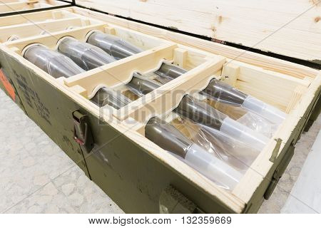 Rocket-propelled Grenades In A Box