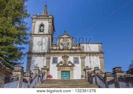 Igreja Matriz In Historical Town Ponte Da Barca