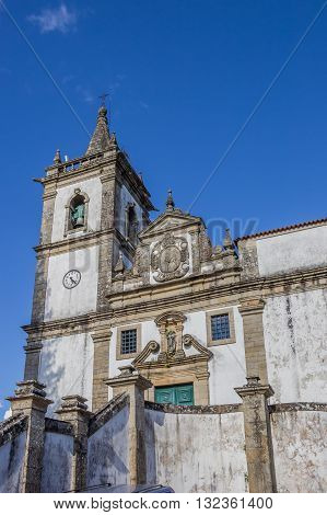 Matriz Church In Historical Town Ponte Da Barca