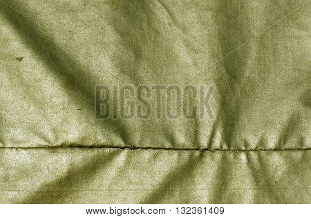 Abstract Yellow Waterproof Textile Texture.