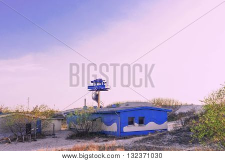 Viewing Tower At The Southern Pier Of Ventspils