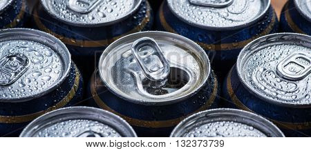 Silver Color Fresh And Cold Beer Can Tops