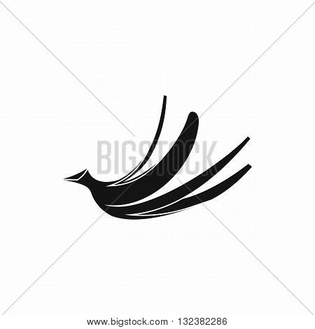 Banana peel icon in simple style isolated on white background