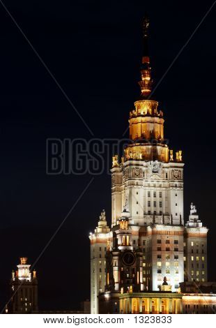 Moscow State University Highlight