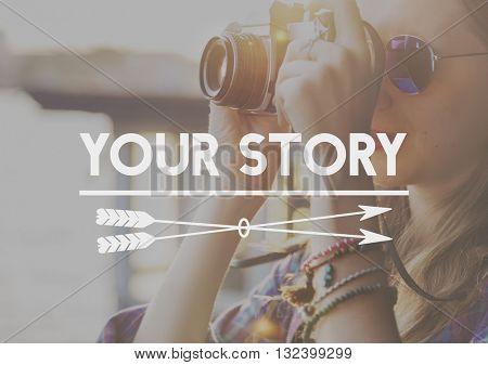 Yor Story Life Moments Memory Concept