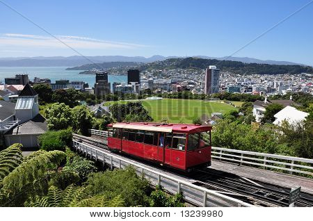 skyline of Wellington, New Zealand