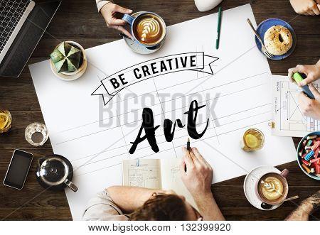 Art Creation Craft Exhibition Imagination Style Concept