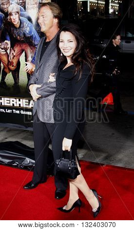 Fran Drescher at the World premiere of 'Leatherheads' held at the Grauman's Chinese Theater in Hollywood, USA on March 31, 2008.