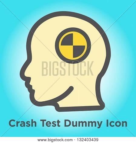 Crash Test Dummy Colorful