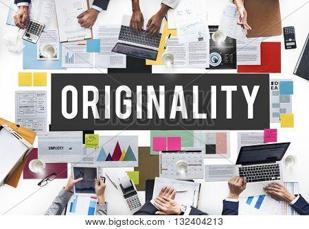 Originality Innovation Intellectual Patent Unique Concept