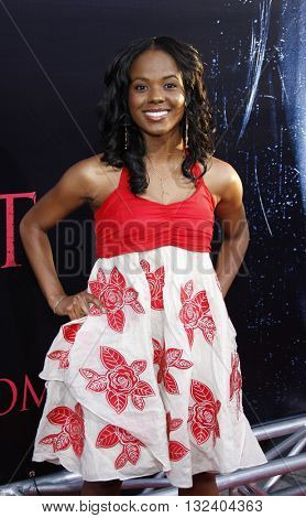 Dana Davis at the World premiere of 'Prom Night' held at the Arclight Theater in Hollywood, USA on April 9, 2008.