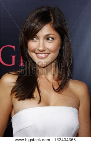 Minka Kelly at the World premiere of 'Prom Night' held at the Arclight Theater in Hollywood, USA on April 9, 2008.