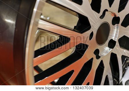 Modern Car Wheel