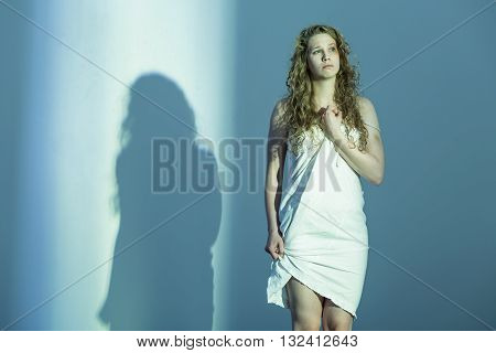 Too Much Suffer Made Her A Shadow Of Herself