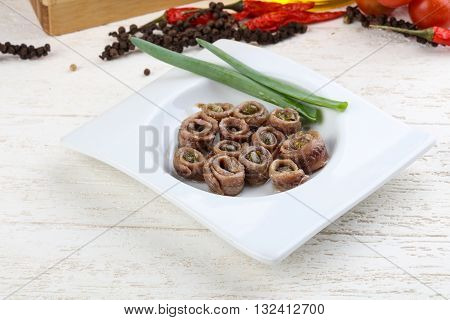 Anchovy With Capers
