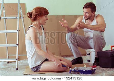 Explaining The Redecoration Plan