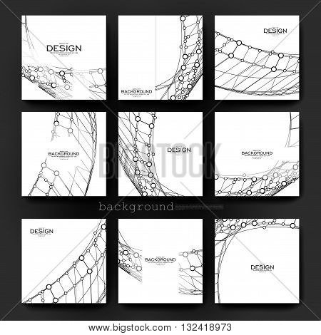 abstract background vector brochure template. Flyer Layout. Creative modern design