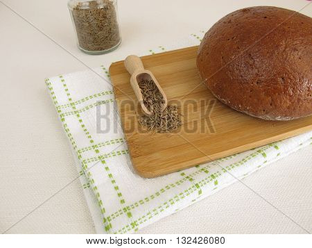 Caraway bread - Rye bread with caraway seeds