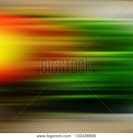 abstract background parallel horizontal lines orange green