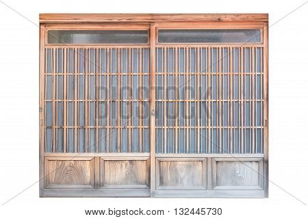 Shoji Traditional Japanese doorwindow or room divider consisting