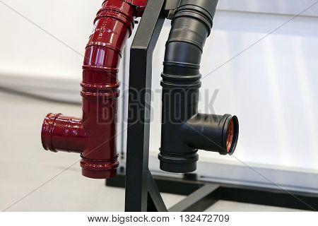 Part Of Metal Pipe