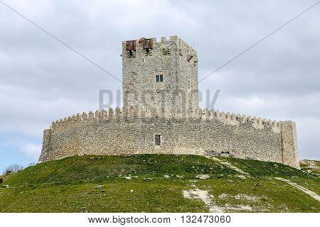Tiedra castle Valladolid Castilla y Leon Spain