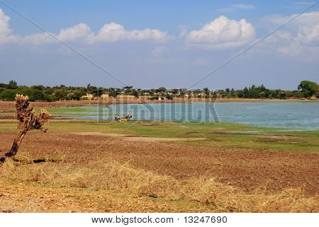Ethiopian lake