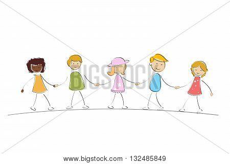 Multi Racial Kids