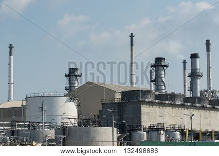 Exterior Tube Of Petrochemical Plant And Oil Refinery For Produce Industrial Material In Heavy Petro