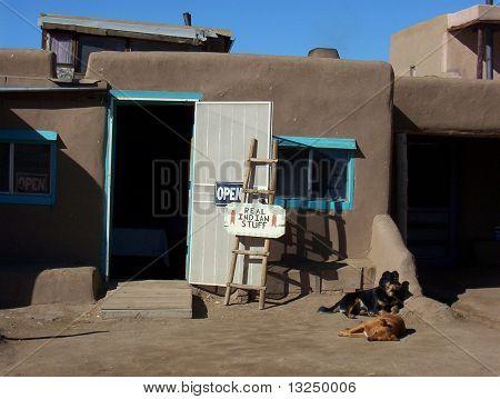 Taos Peublo store