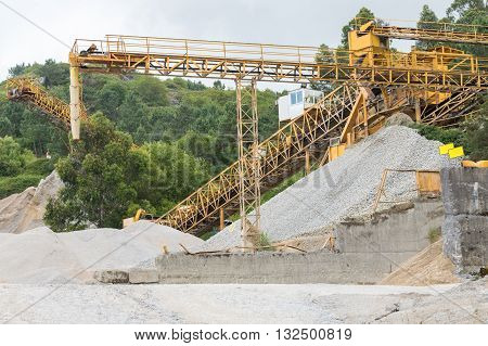 image of industrial equipment image for quarrying