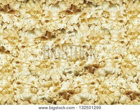 Photo Stock - Sweet Popcorn texture background