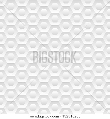 hexagonal pattern seamless or decorative background - vector illustration