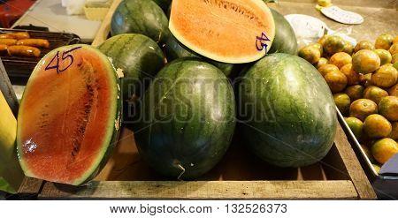 Sweet Fruits From Street Market