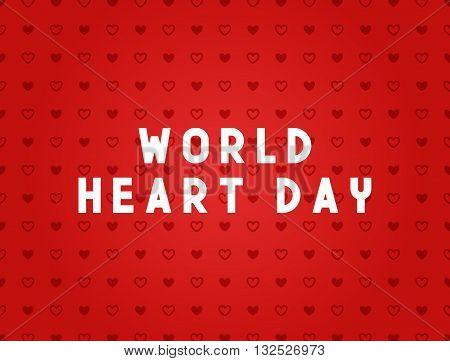 Medicine concept World heart day. Creative design elements for websites, mobile apps and printed materials. Medicine banner design