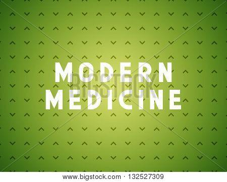 Medicine modern concept. Creative design elements for websites, mobile apps and printed materials. Medicine banner design