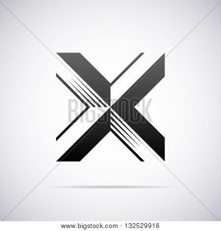 Logo for letter X design template vector illustration