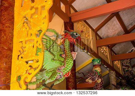 Buddhist Temple .vietnam Dalat.
