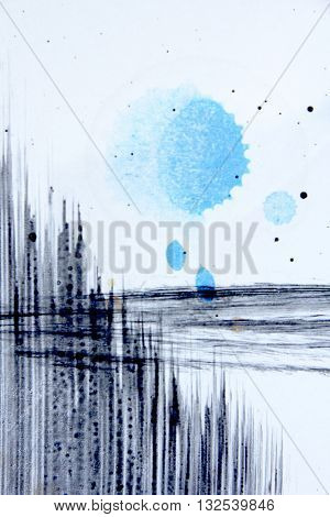 Abstract Grunge Paint Background 8