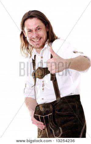 Man At Oktoberfest