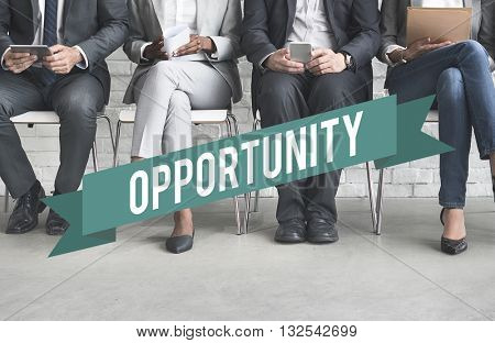 Human Resources Business Position Graphic Concept