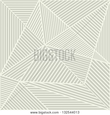 Abstract beige modern crossing lines vector background.
