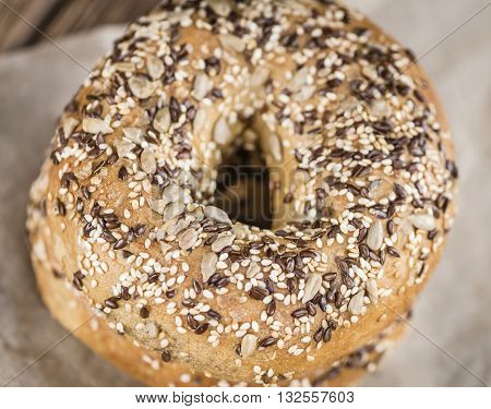 Fresh Baked Wholemeal Bagels