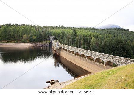 Laggan Dam In Scotland