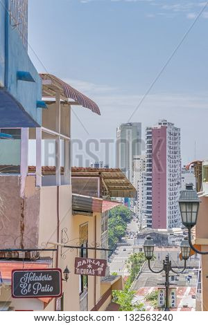 Cerro Santa Ana Guayaquil Ecuador
