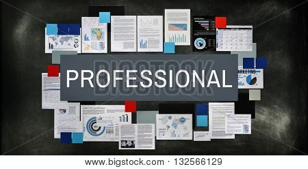 Professional Cleverness Proficiency Skill Concept