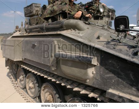 Tracked Military Vehicle