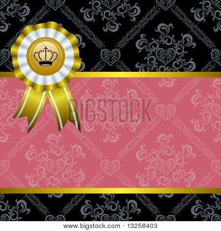 Abstract Decoration Frame
