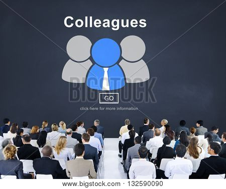 Colleagues Alliance Collaboration Partnership Team Concept