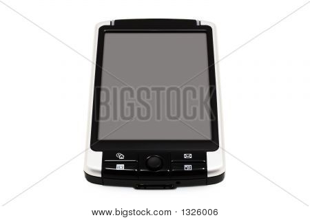 Thin Mobile Pc (Isolated On White)